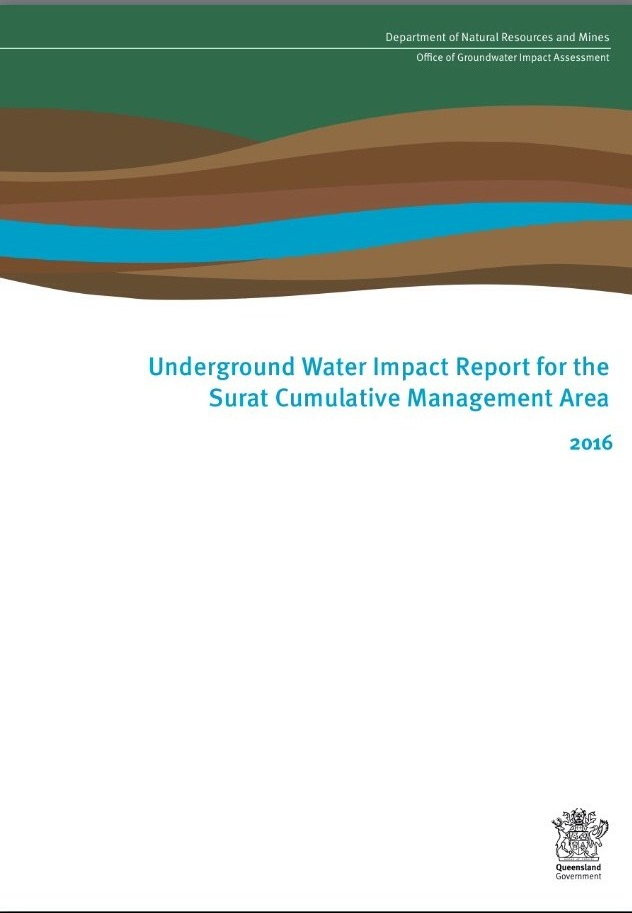 Underground Water Impact Report for the Surat CMA 2016