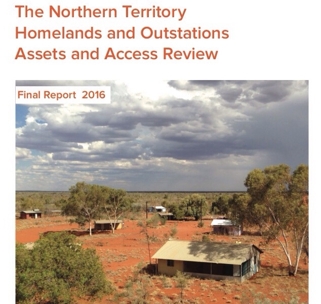 The Northern Territory Homelands and Outstations Assets and Access Review 2016