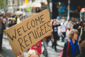 Refugee rally in Australia